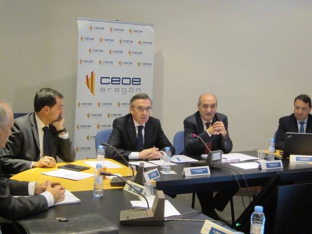 Beamonte participa en el Comité Ejecutivo de CEOE Aragón