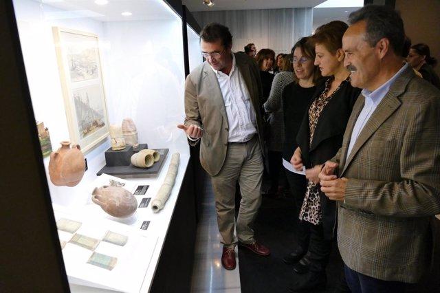 Piezas incluidas en la exposición sobre Al-Andalus