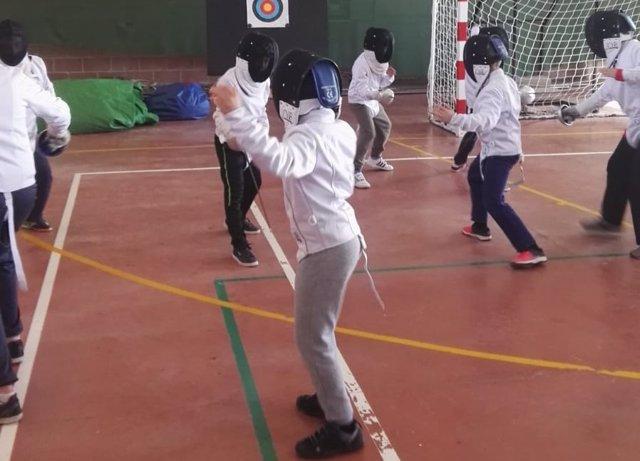 Juegos Escolares de la Diputación de Ávila. 13-12-18