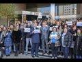 Trabajadores de Europa Press se concentran en Madrid contra la incautación de material a periodistas en Baleares