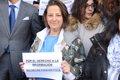 TRABAJADORES DE EUROPA PRESS SE CONCENTRAN EN MADRID CONTRA LA INCAUTACION DE MATERIAL A PERIODISTAS EN BALEARES