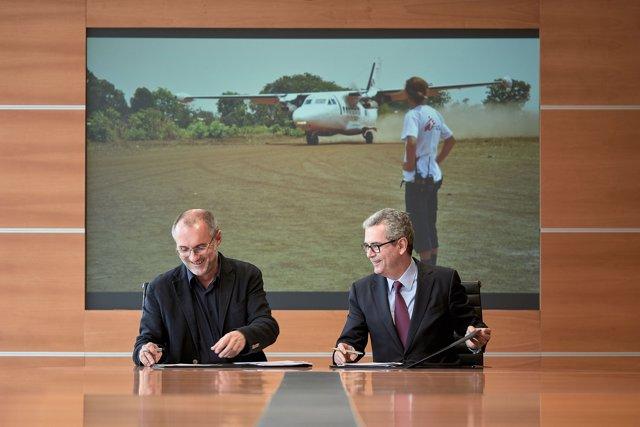 Inditex aporta 2,5 millones de euros para MSF