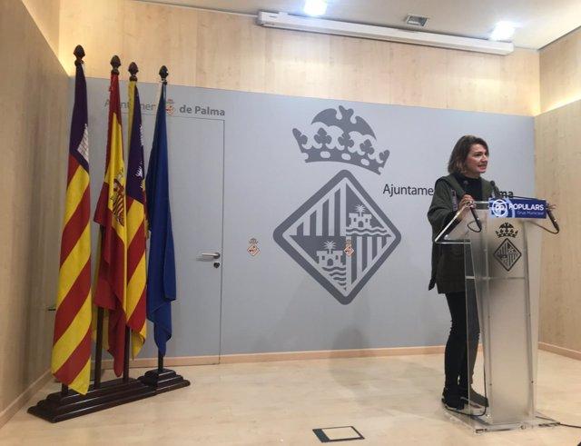 Portavoz del PP en Cort, Margalida Durán