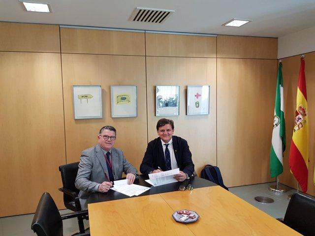 Fernando Rodríguez del Estal y Juan Francisco Delgado