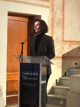 La consejera de Economía, Olga García