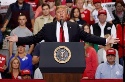 """Trump sugiere que México ya está """"pagando el muro"""" con el nuevo NAFTA"""