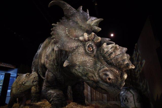 """Presentación de la exposición """"Jurassic Park"""" en Ifema"""