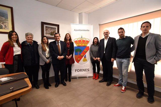 Constitución de Fornes como municipio independiente de Arenas del Rey