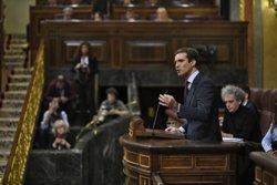 Casado demanarà a Brussel·les canviar l'euroordre per garantir l'entrega a Espanya dels fugits com Puigdemont (Oscar del Pozo - Europa Press)