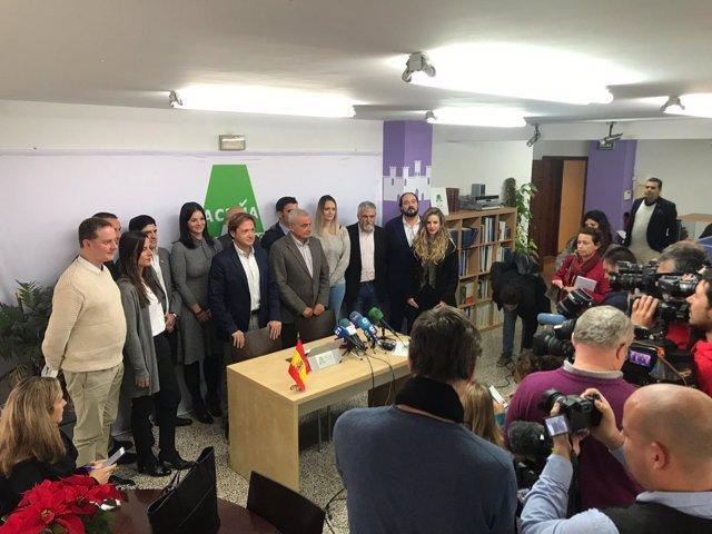 Candidato a la alcaldía es el ex-Jefe de Estado Mayor, Fulgencio Coll