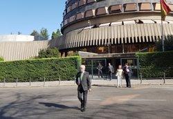 El TC anul·la parcialment la moció independentista del Parlament del juliol passat, que va ratificar objectius del 9N (EUROPA PRESS - Archivo)