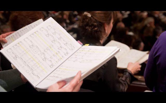 Doscientos cantantes aficionados participan este sábado en el concierto de 'El Mesías', en el Auditorio de Zaragoza