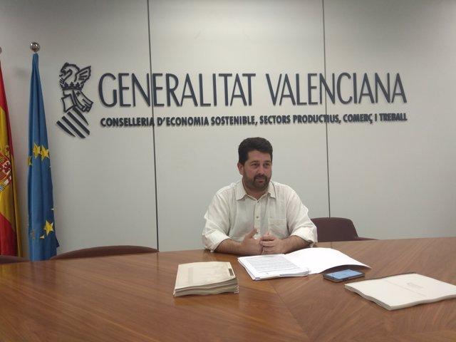 El director general de Comerç, Natxo Costa (arxiu)