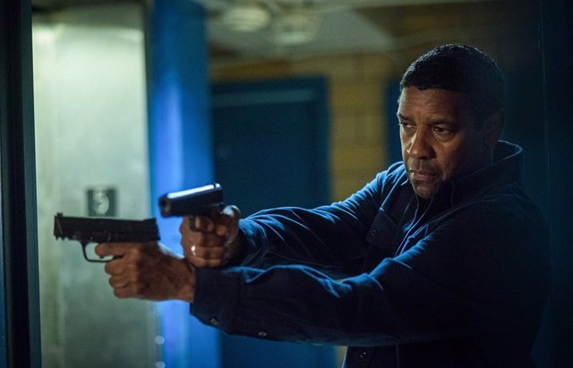 Denzel Washinton en The Equalizer 2