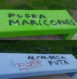 Pintadas homófobas en Torrelodones