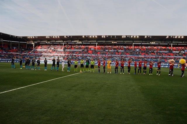 Soccer: Liga 123 - CA Osasuna v CD Lugo
