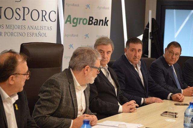 Carmel Mòdol, Fèlix Larrosa, Miguel À. Ortega, Javier Nestares i Francesc Ollé