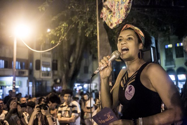Marielle Franco, la activista asesinada en Brasil.