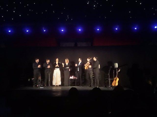 Bernardo Miranda y Rocío Márquez en el Teatro Real