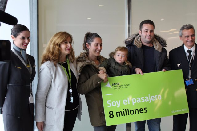 Pasajero 8 millones del Aeropuerto de Ibiza
