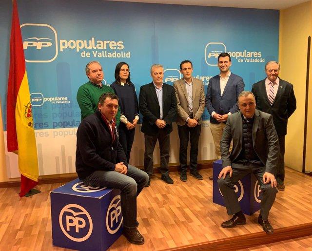 Candidatos del PP en seis municipios de Tierra de Campos. 13-12-18
