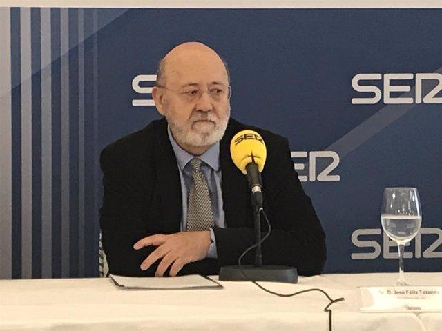 El presidente del CIS, José Félix Tezanos