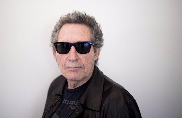 En Granada, rueda de prensa de Miguel Ríos para presentar el concierto que pondr