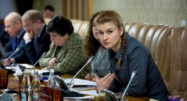 Maria Butina, acusada en EEUU de ser una agente de Rusia