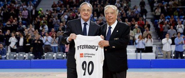 Florentino Pérez y Pedro Ferrándiz