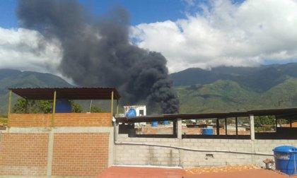 Heridas tres personas en un incendio en una planta de PDVSA en Venezuela