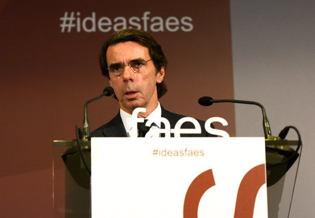 José María Aznar clausura el III Foro #IDEASFAES en Valencia