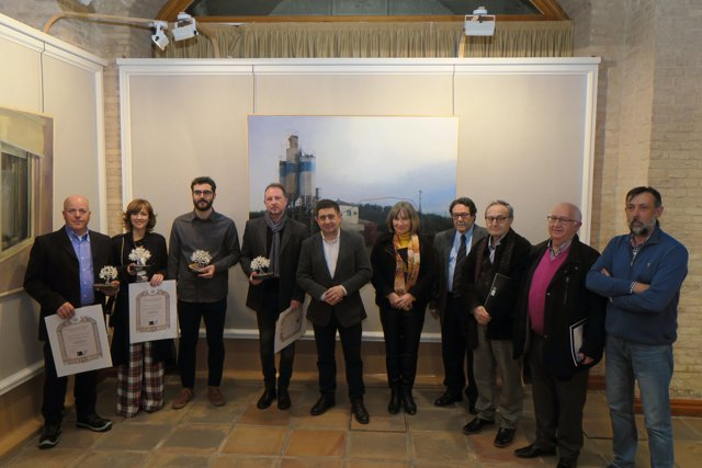 El Palacio Provincial acoge la exposición de obras del Premio 'Emilio Ollero'