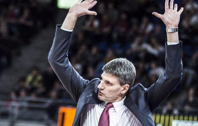 El entrenador del Kirolbet Baskonia, Velimir Perasovic