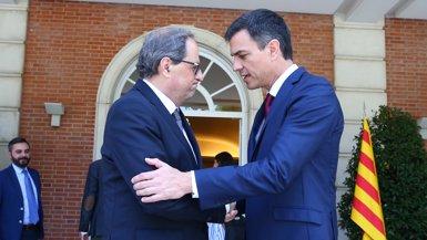 Calvo ofereix formalment per carta al Govern català una reunió entre Sánchez i Torra el 21D a Barcelona (POOL)