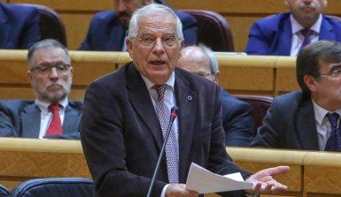 Borrell adverteix al Govern català que no és necessari el 155 per traslladar policies a Catalunya (Ricardo Rubio - Europa Press)
