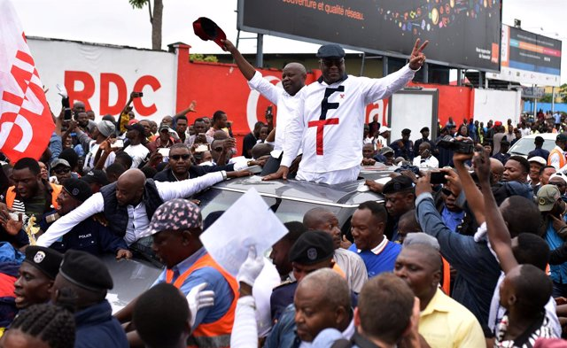 Vital Kamerhe y Felix Tshisekedi, dirigentes opositores congoleños
