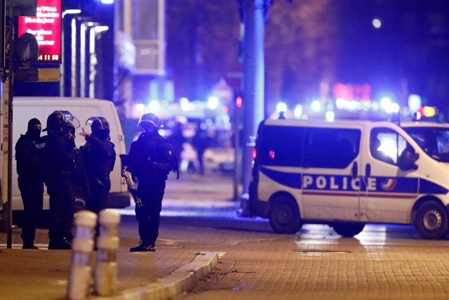 Operación policial en Estrasburgo