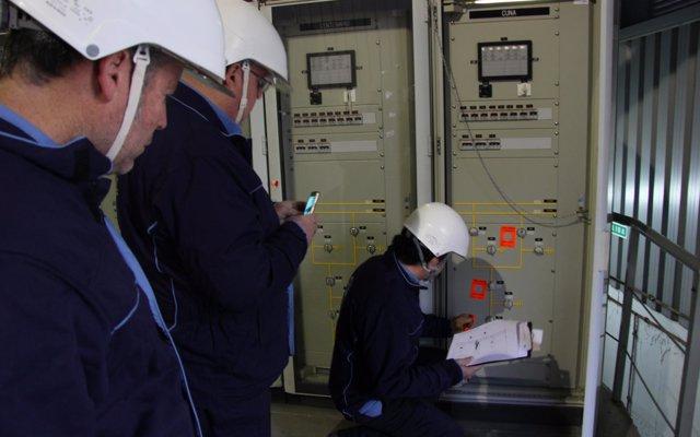 Endesa inspecciona 85 kilómetros de líneas de tensión, en el marco de un dispositivo especial para el periodo invernal