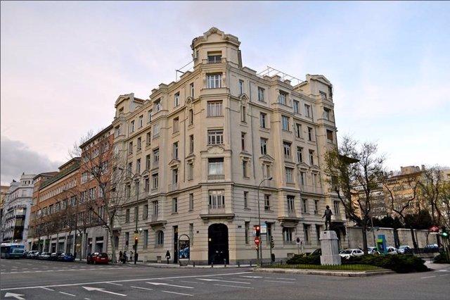 Edificio Caser en el barrio de Salamanca