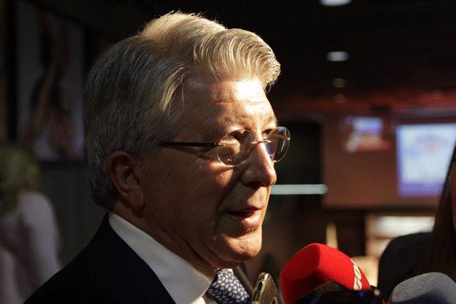Enrique Cerezo en el Comité Olímpico Español