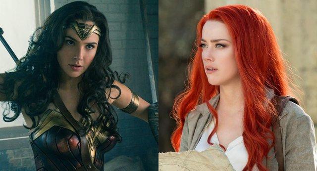 Wonder Woman y Mera
