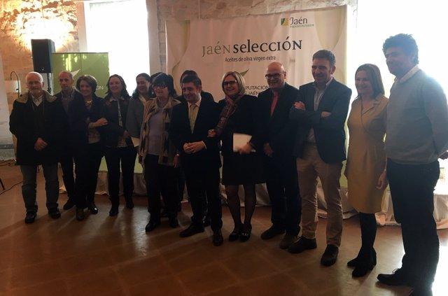 Presentación de los aceite de oliva virgen extra Jaén Selección 2019.