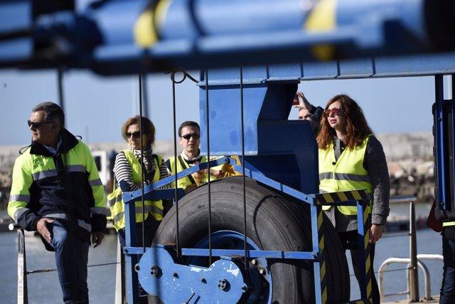 Técnicos de la APPA visitan el puerto de Chipiona