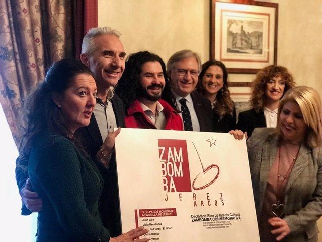 El consejero de Cultura, Miguel Ángel Vázquez, en Jerez