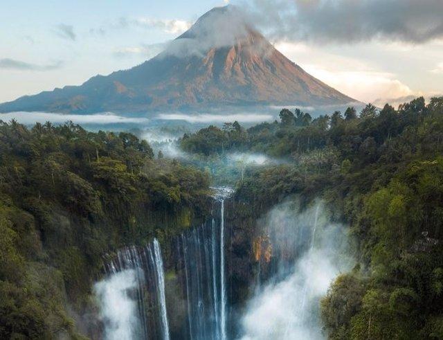 La Cascada de Tumpak Sewu