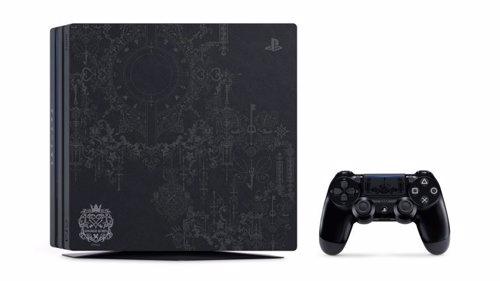 Playstation Anuncia Una Edicion Limitada De Ps4 Pro Con Kingdom Hearts 3