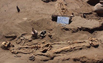 Hallan un antiguo cementerio con cuerpos amputados en Perú