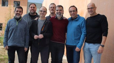 Traslladen Jordi Turull a la infermeria de la presó de Lledoners per la vaga de fam (ÒMNIUM CULTURAL)