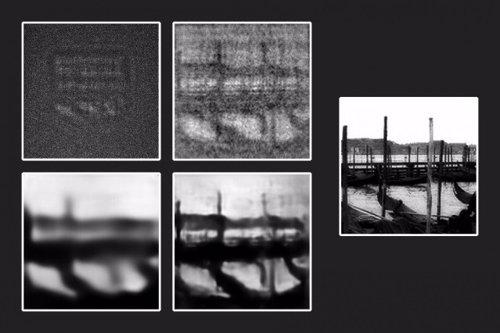 Aplicación de la red neuronal profunda a un objeto en la oscuridad