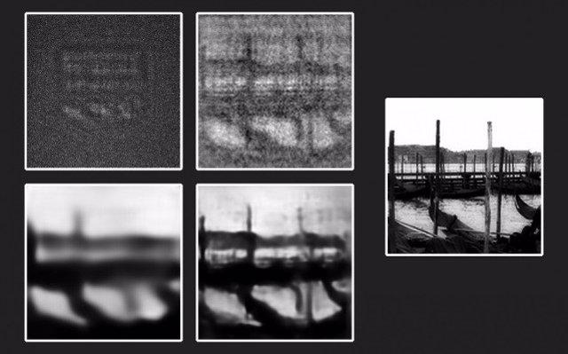 Una red neuronal revela objetos invisibles en la oscuridad